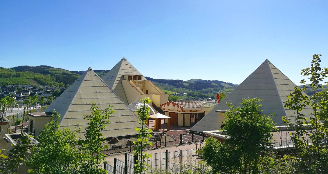 Sauerland Pyramiden Galileo Park Lennestadt