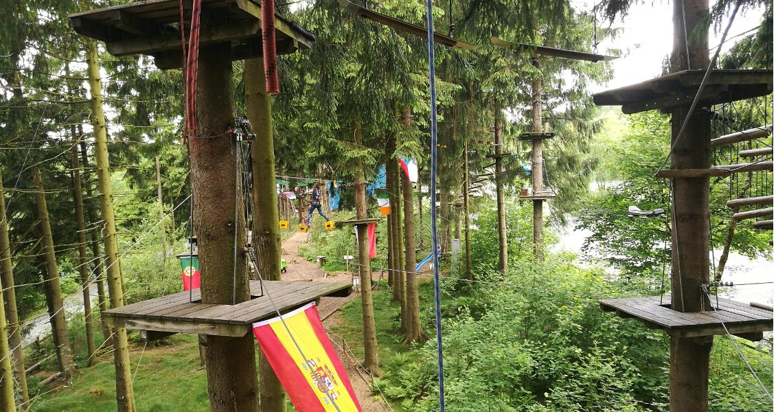 Kletterwald Winterberg Sauerland