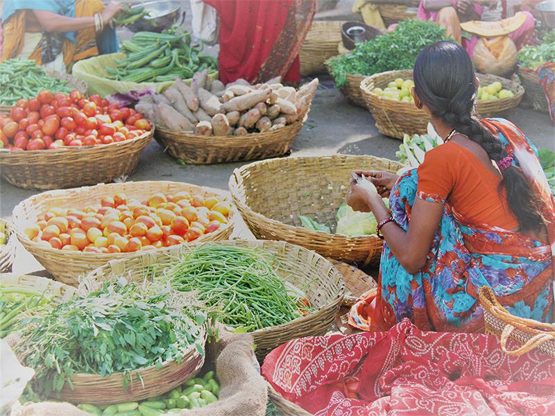 Markt Indien